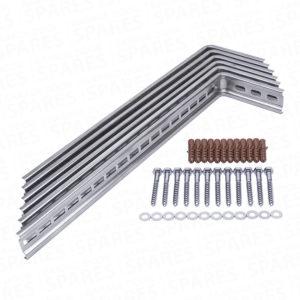 Garage door cavity fitting kit