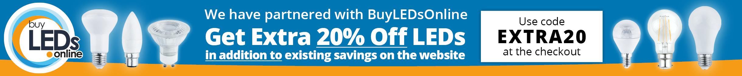 Buy LEDs Bulbs Online