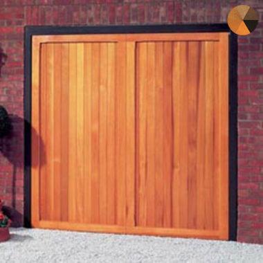 Cardale Futura Berkeley Vertical Timber Garage Door