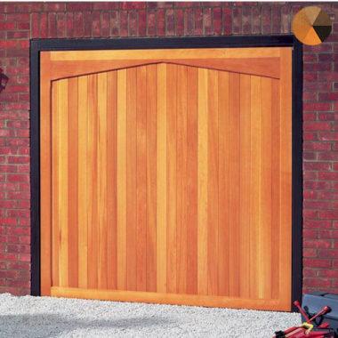 Cardale Futura Gatcombe Timber Garage Door