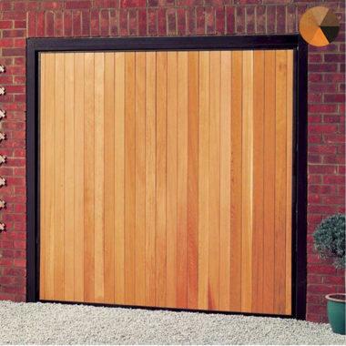 Cardale Futura Vertical Timber Garage Door