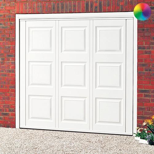 Cardale Georgian Garage Door & Cardale Georgian Steel Garage Door | Online Garage Doors