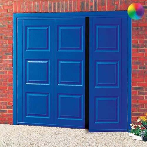 Cardale Georgian Steel Side Hinged Garage Door Online Garage Doors