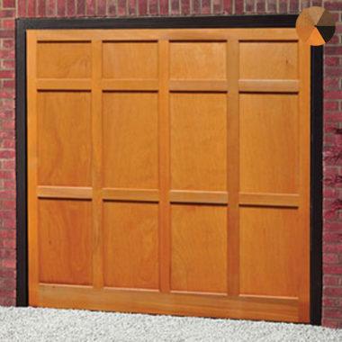 Cardale Heritage Shropshire Timber Garage Door