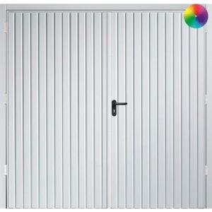Carlton side hinged garage door