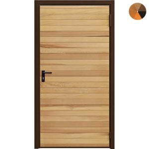 Garador Horizontal Cedar Personnel Door