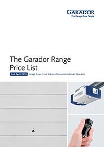Garador Price List