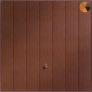 Garador Sherwood Timber Effect Garage Door