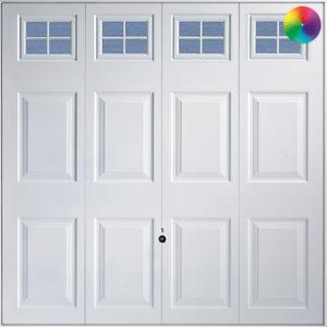 Hormann Georgian with Windows 2304 Garage Door