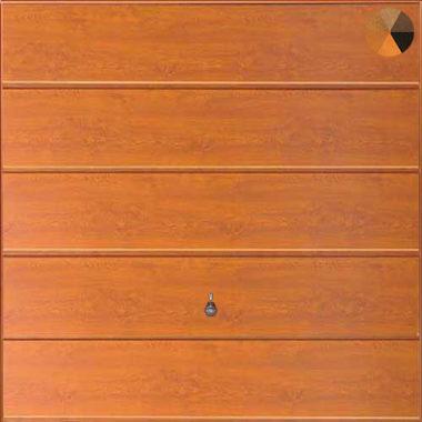 Hormann Horizontal Decograin Golden Oak