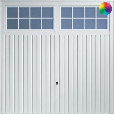 Hormann Ilkely with Windows 2101 Garage Door