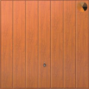 Hormann Vertical Decograin Golden Oak