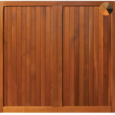 Woodrite Chalfont Timber Garage Door